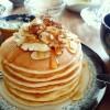 イーストパンケーキとアールグレイ香るクランベリークッペ❁