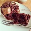チョコレートマフィンとベーグル2種❁