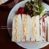 カルボナーラサンドイッチを作ってみたよ♪食パンカットガイド、追加レポ。