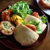 【続・ノンフライヤー企画♪】ピタパン焼いて、たなべぇサンドなランチを食べよう!❁レシピ付き
