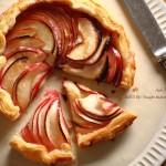 【型なしアップルパイ】紅玉1個で大満足♪紅玉ガレットを焼きましょう❁レシピ付き