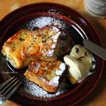 失敗パンを美味しく食べよう♪安納芋たっぷりフレンチトーストのおやつ。