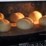 ふわふわ~な白パンドッグで朝ごはん☀白パン成形の課題!❁