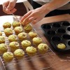 お盆帰省②プチお菓子教室グリーンバナナマフィンを作ろう❁レシピ付き