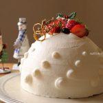 クリスマスは苺のドームケーキ🎅🎄🎂❁ドームケーキの組み立て方法