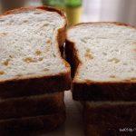 粒ジャムメープルで食パンを焼く!❁