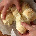 「そめいよしの」の水あめ入り白ちぎりパン②