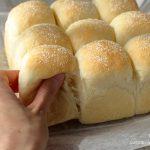 強力粉そめいよしので作る白ちぎりパン③と、お花見🌸