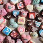 お手軽可愛い♪レンジチョコ&チョコレート転写モールドを使ってみた!