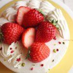 誕生日ショートケーキ❁参考レシピあり