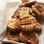 チョコチップピーナツバタークッキー!🍪