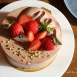 ショートケーキ練習①紅茶とチョコレートのケーキ❁