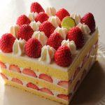 妹と一緒に③ショートケーキ作り❁参考レシピあり