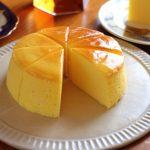 【動画あり】スフレチーズケーキ練習❁
