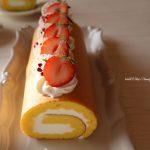 米粉ロールケーキと豚の角煮まん🐽参考レシピあり
