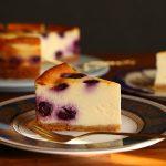 【動画あり】ブルーベリーのベイクドチーズケーキ練習④❁レシピあり