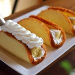 【動画あり】ふわっふわのスポンジで「バナナオムレット」を作る!❁レシピ付き【まるごとバナナ】